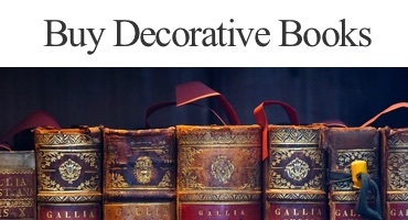 Purchase Books by the foot. Decorative books.